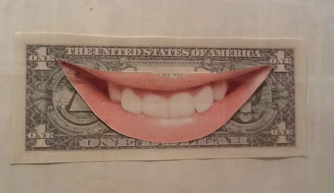 Dollar smile